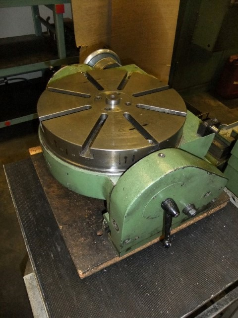 Jig Bore Rotary Table : Sip societe genevoise hauser cnc jig borer bw machine